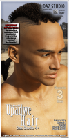 DS Upadwe Hair for Michael 4, Genesis, Genesis 2 Male & Genesis 3 Male