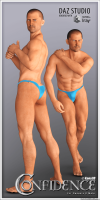 Confidence Poses for Genesis 8 Male